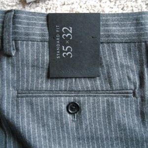 Banana Republic Standard Pinstripe Suit Pant 35/32
